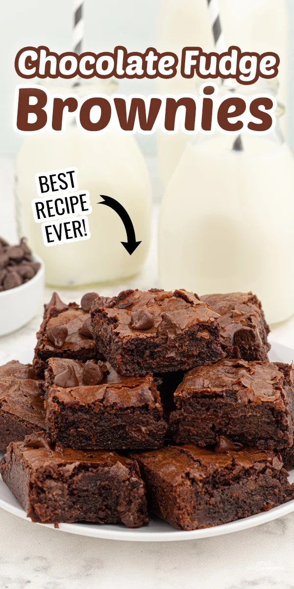 This Brownie Recipe is by far the best we have ever made. They are fudgy, chewy and full of chocolately goodness.