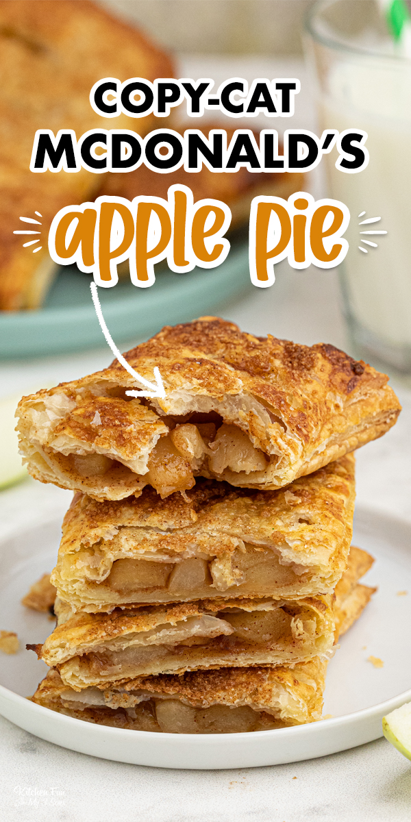 Copycat McDonald's Apple Hand Pies