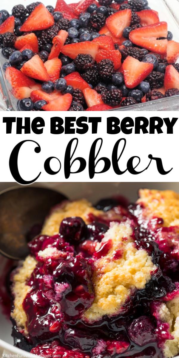 BEST Berry Cobbler