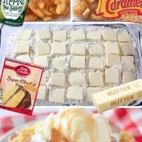 Torta od smeće od karamele od jabuka