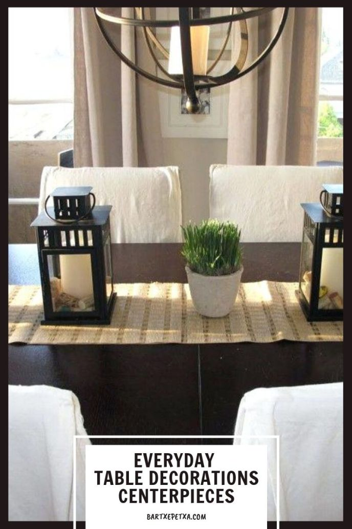 everyday table decorations centerpieces