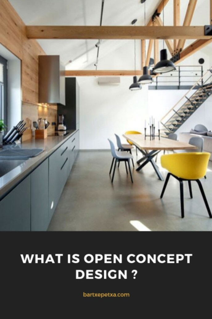 What is Open Concept Kitchen?