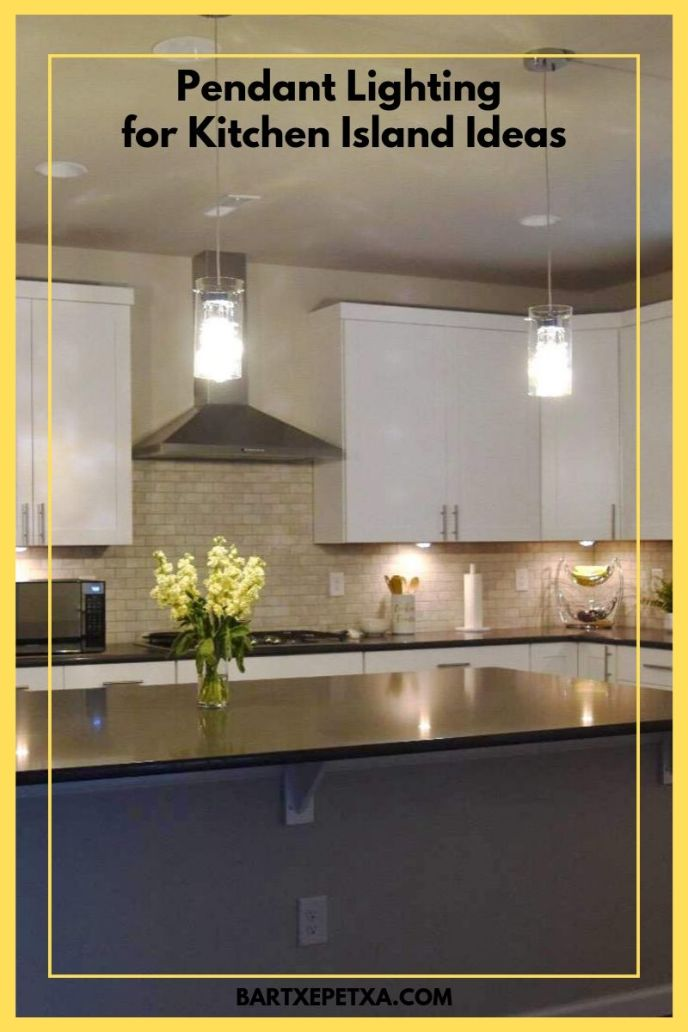 pendant lighting over kitchen island ideas