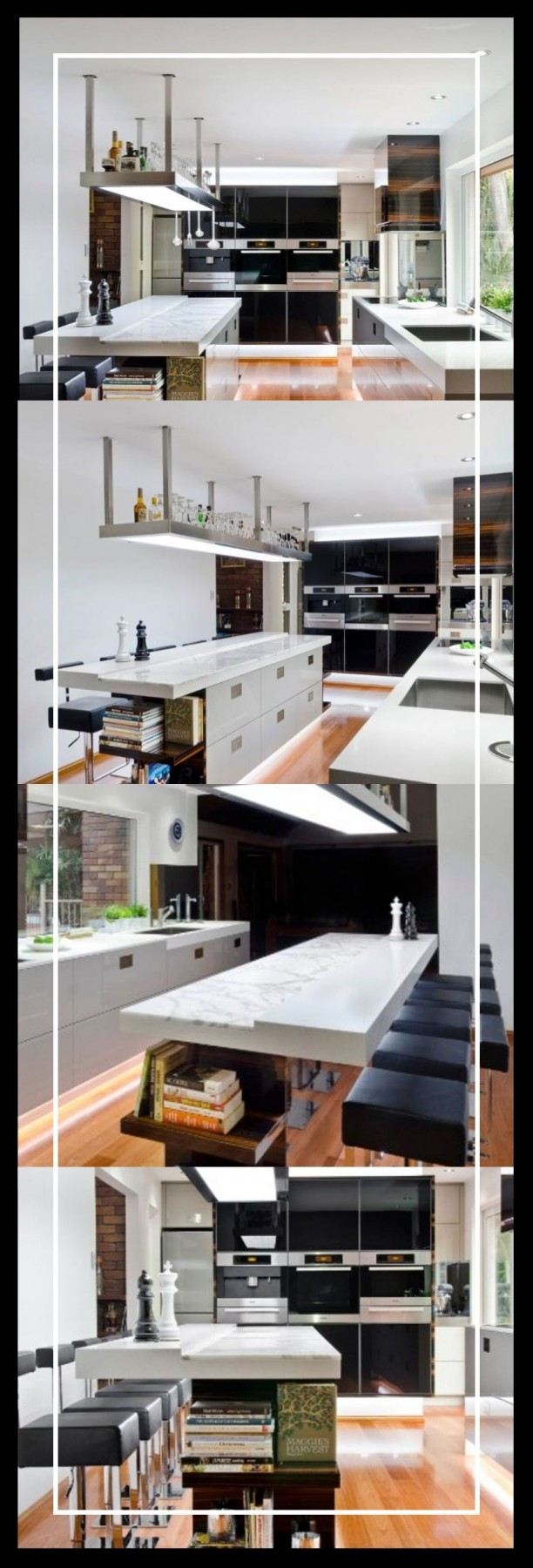 stone kitchen island ideas with stone pillers