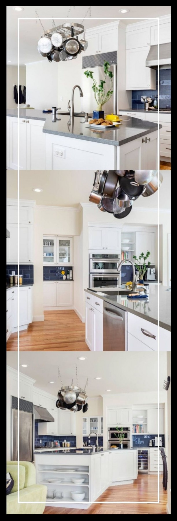 u shaped kitchen with island remodel ideas