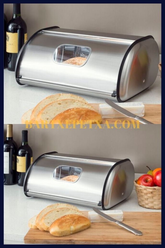 metal kitchen storage containers