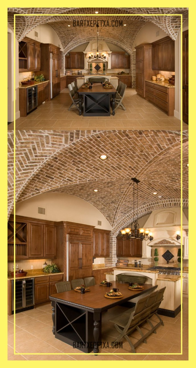vaulted kitchen ceiling ideas