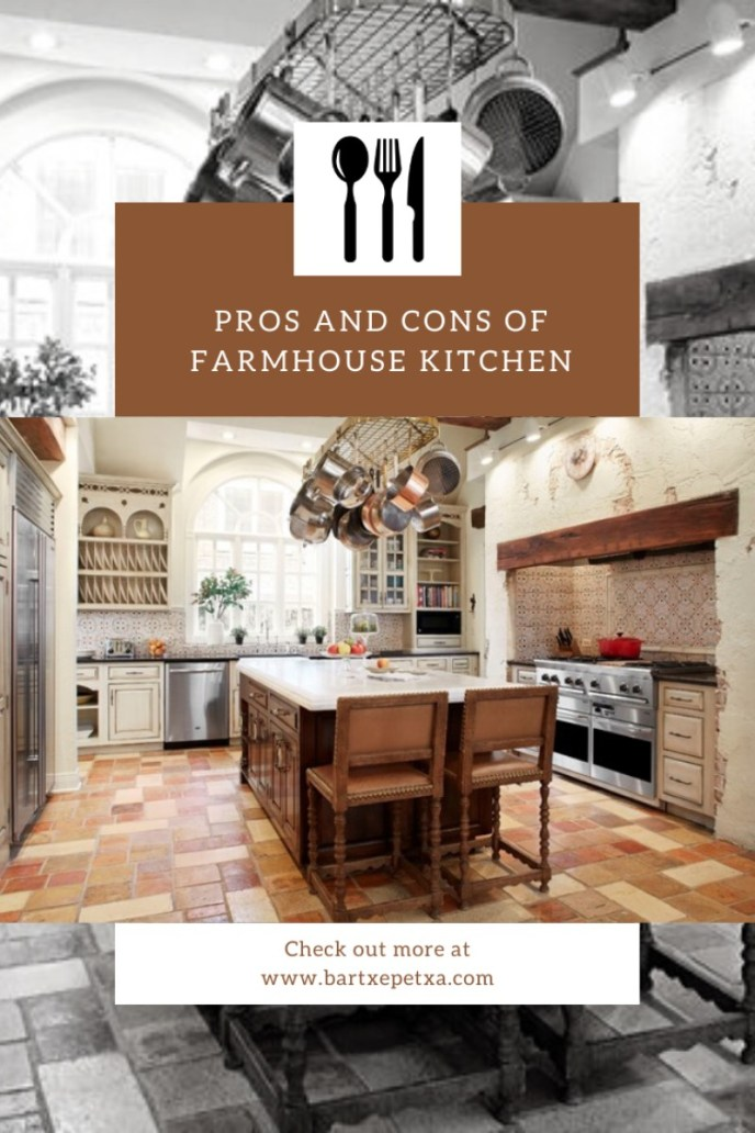 Pros and Cons of Farmhouse Kitchen