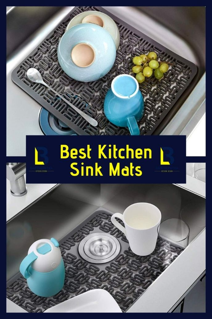rubber kitchen sink mats