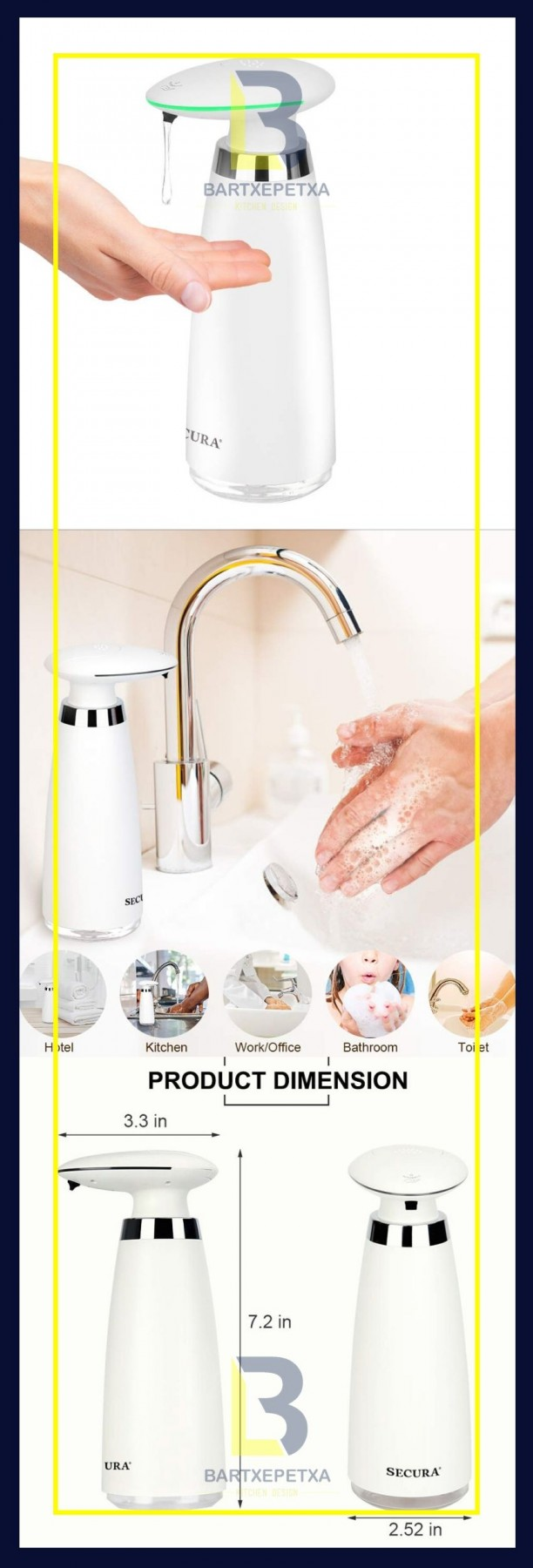 home depot kitchen sink soap dispenser