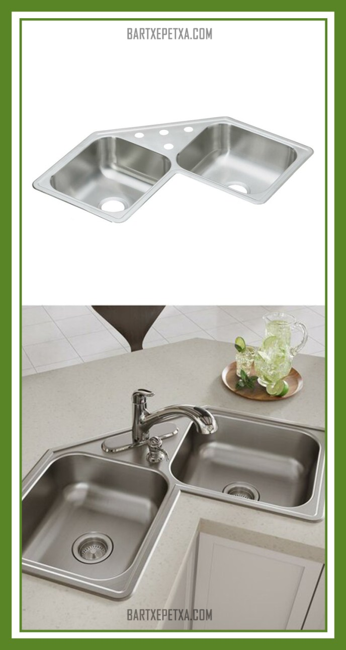 small corner kitchen sink