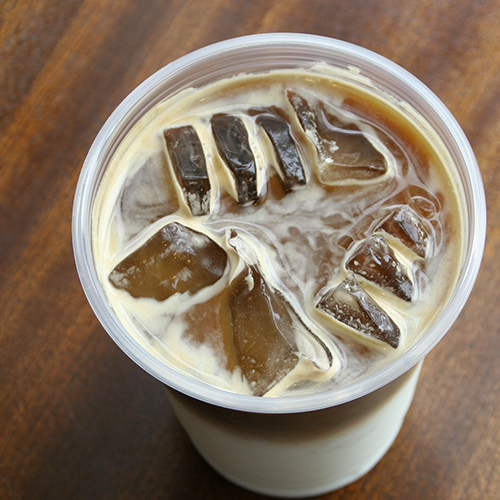 Iced Caffe Americano - Espresso and water poured over ice