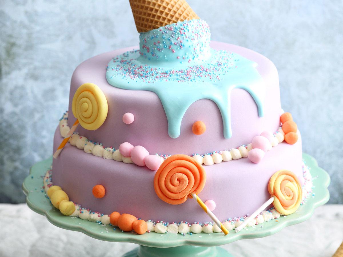 Einhorn Kuchen Deko Selber Machen Kuchen Mit Deko Selber Machen
