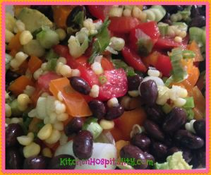 Southwestern Chopped Vegetable Salad Craving