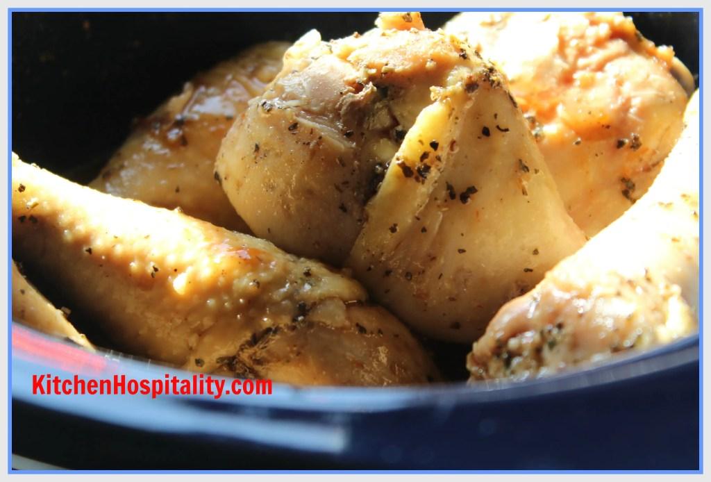 Crockpot Barbecue Chicken Drumsticks