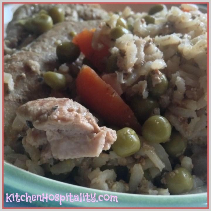 Crock Pot Pork Chop Meal