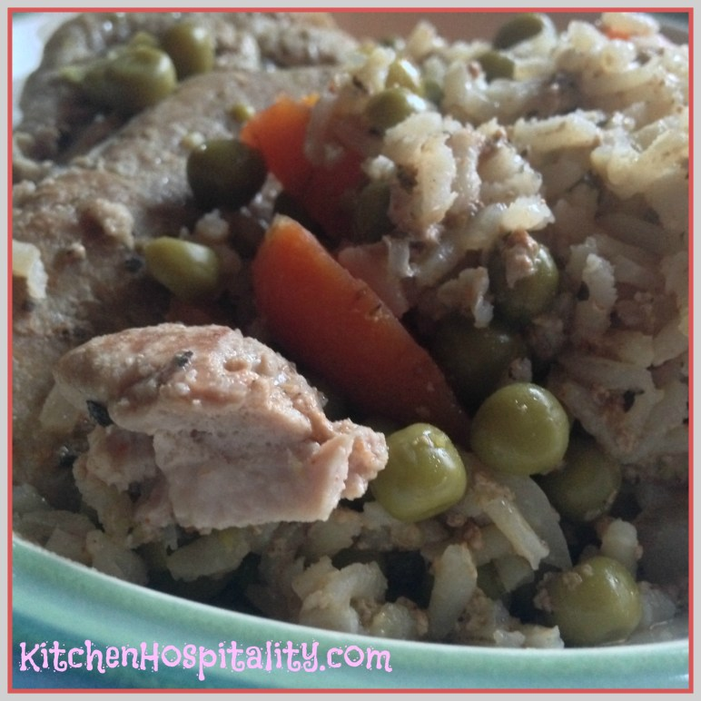 Crock Pot Pork Chop Meal
