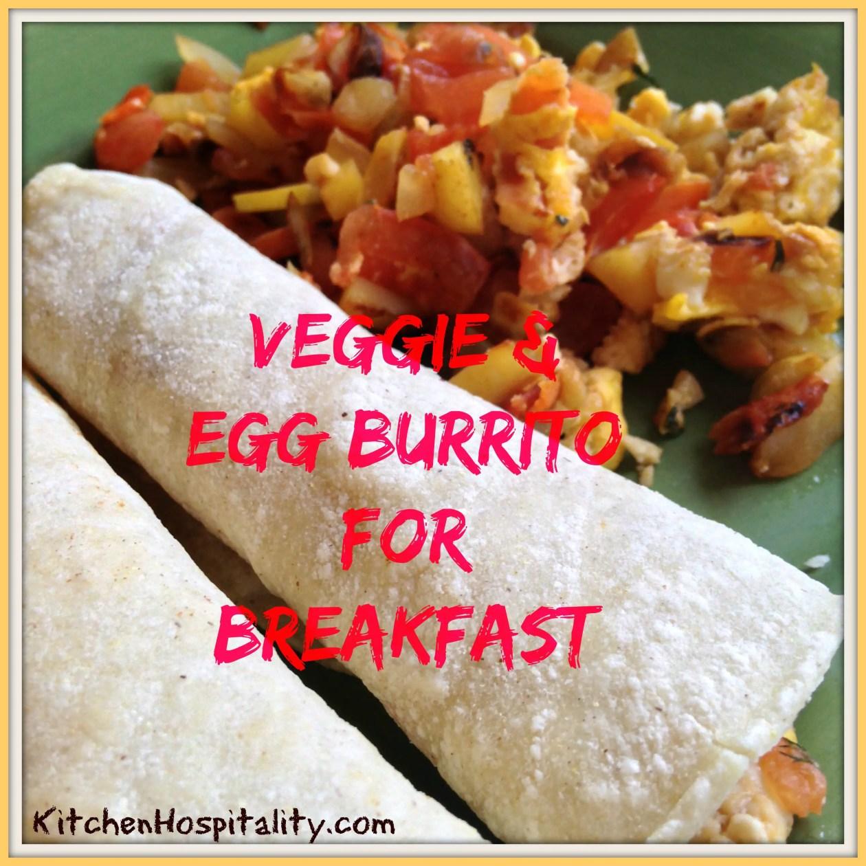 Veggies & Eggs for Breakfast