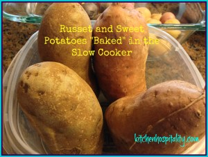 Slow Cooker Potatoes