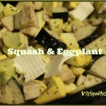 Slow Cooker Squash and Eggplant