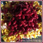 Kidney Bean & Corn Mediterranean Summer Salad