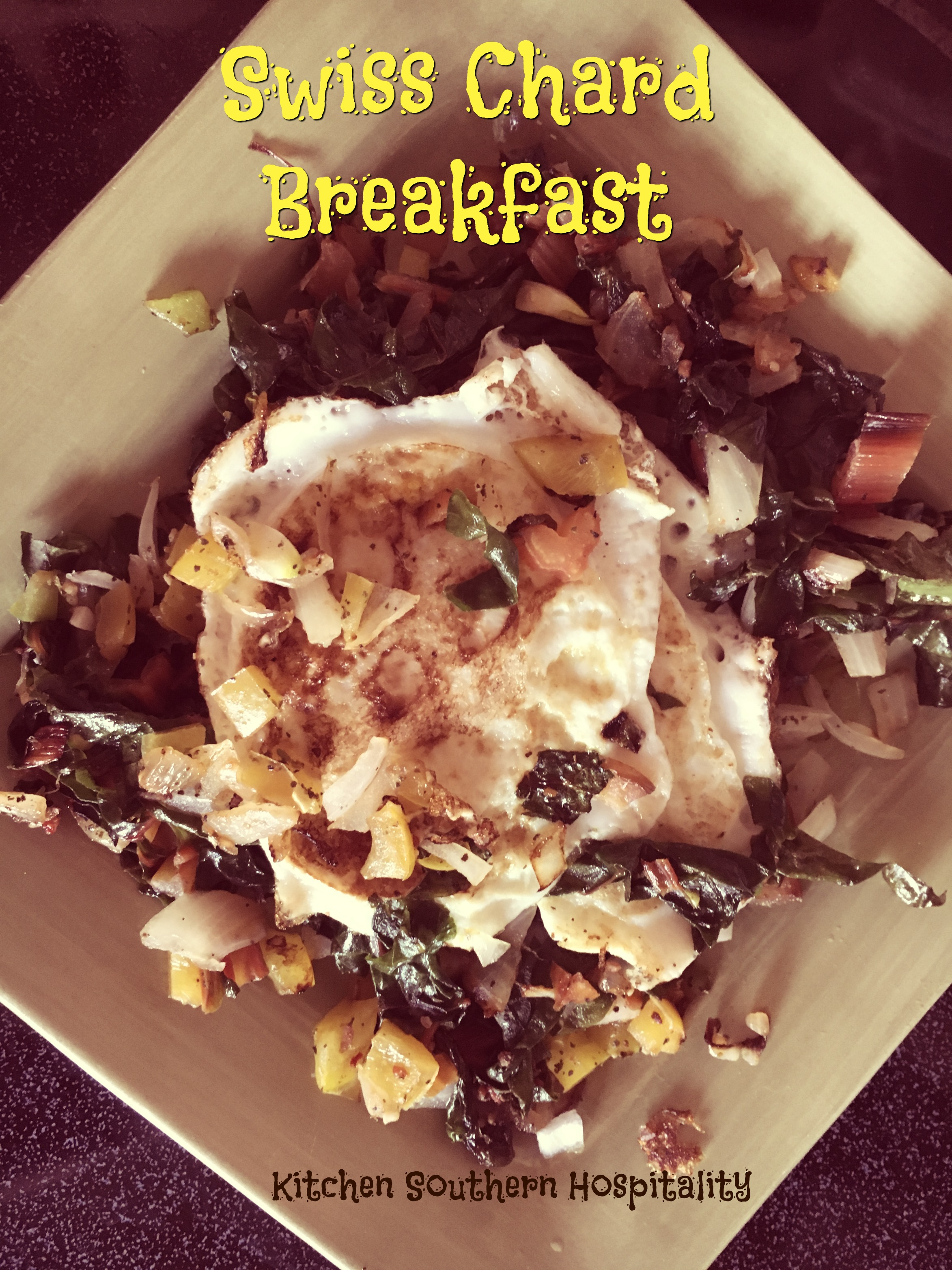Swiss Chard & Eggs