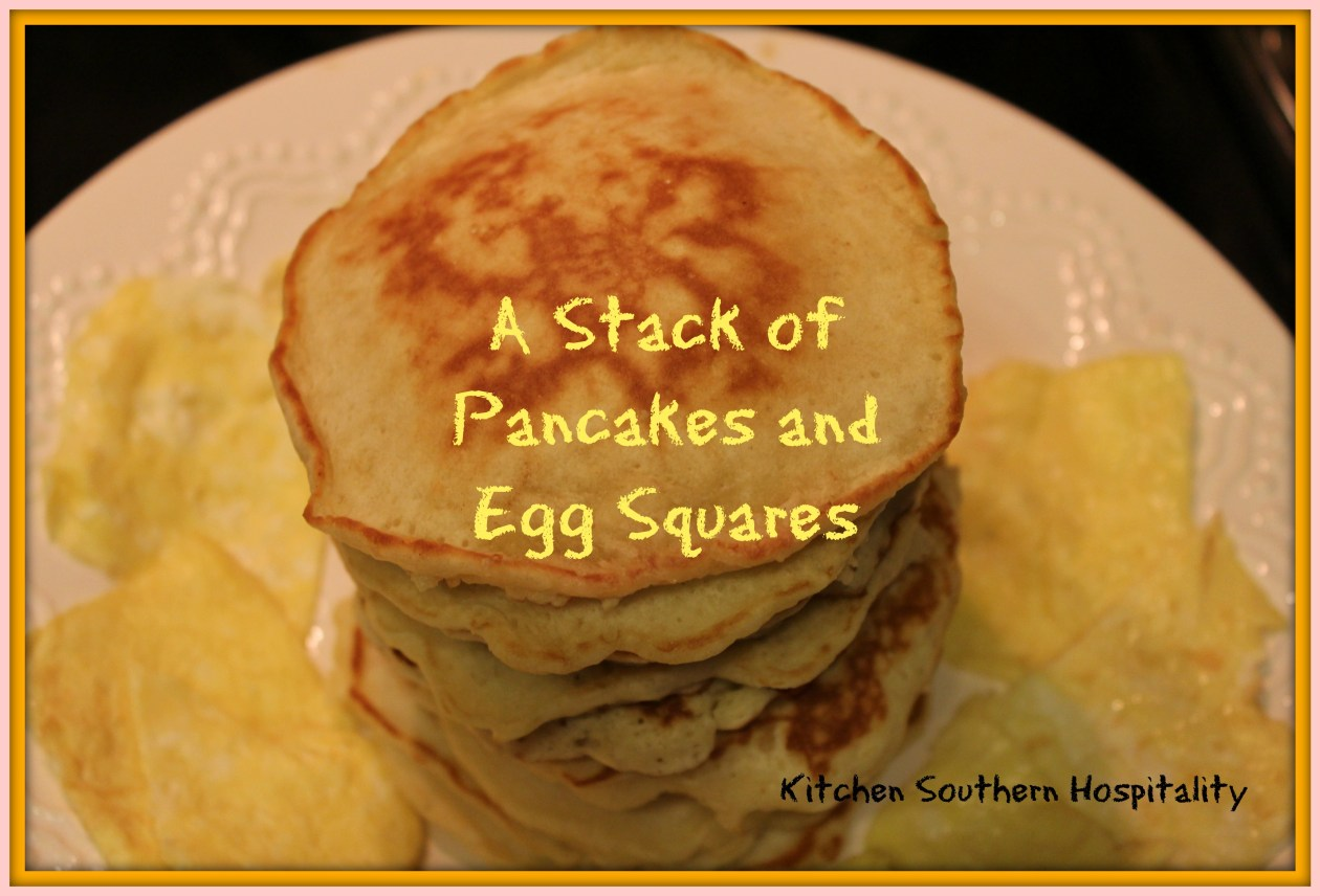 Eggs and pancakes for kids at Kitchenhospitality.com