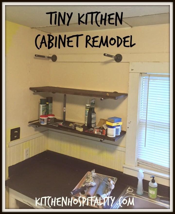 Remodeling a tiny kitchen