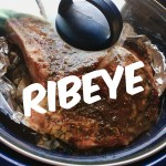 Mesquite-Tea Easy Ribeye Slow Cooker Meal