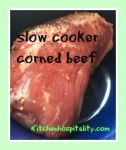 corned beef in the slow cooker