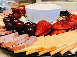 Snacks and Lunches with Cheese for Two