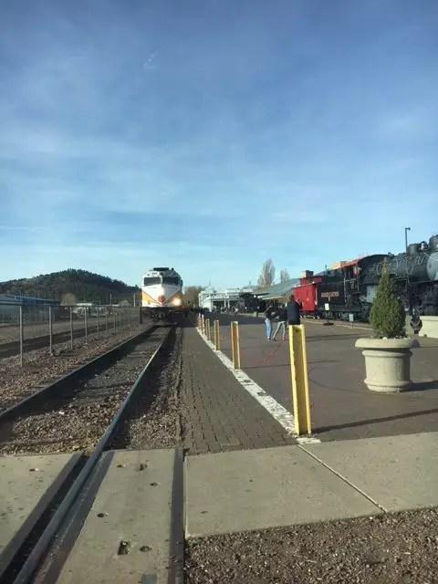 trains, Williams, AZ