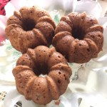 Everything Mini Bundt Cake Recipe, a Natural Sugar Treat