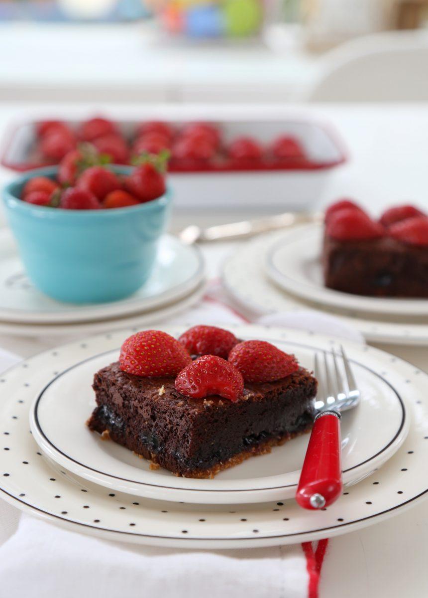 Marmelatlı Brownie