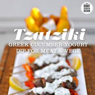 Make Tzatziki from Bunny, Eats, Design