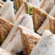 Luxe high tea sandwiches