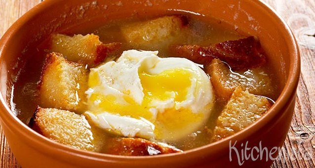 Sopa de ajo (Spaanse knoflooksoep)