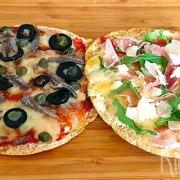 Minipizza's van pita's