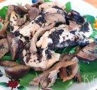 Kip met paddenstoelen en truffel