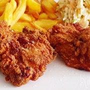 Crispy fried chicken (krokant gefrituurde kip)