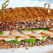 Caesar sandwich (zoals de salade)