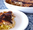 Makkelijke preitaart met gehakt en kaas