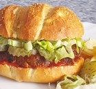 Meatloaf sandwich – soort hamburger maar dan anders