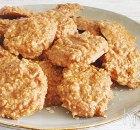 No bake pindakaas en havermout koekjes