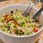Rice Salad with Summer Vegetables