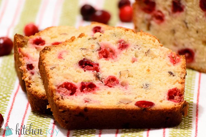Cranberry Nut Bread Kitchen Joy
