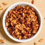 Roasted Chai-Spiced Pumpkin Seeds