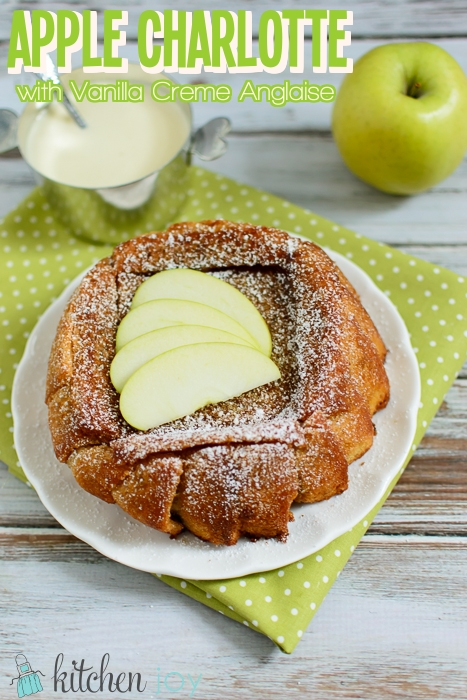 Apple-Charlotte-With-Vanilla-Creme-Anglaise