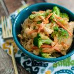 Thai Peanut Chicken Stir-Fry