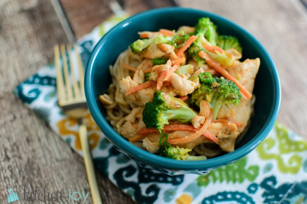 Thai Peanut Chicken Stir-Fry